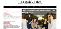 Aspiring writers, journalists, photographers - Get your work in the Eagle's Voice